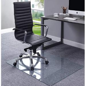 Lorell 36寸鋼化玻璃辦公椅地墊 @ Amazon