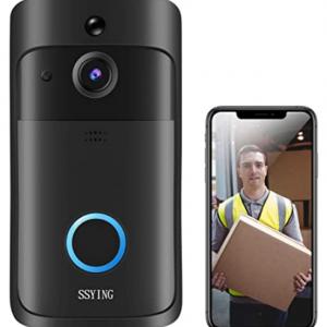 Amazon - Shiying AF無線視頻門鈴,帶運動探測器 + 夜視功能,5折