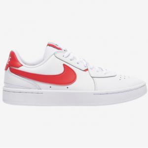 Champs Sports官網 Nike Court Blanc 白色紅鉤女款板鞋熱賣