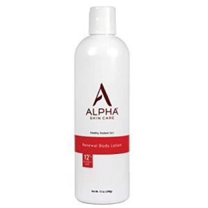 Alpha Skin Care - Renewal Body Lotion, 12% Glycolic AHA 12-Ounce @ Amazon