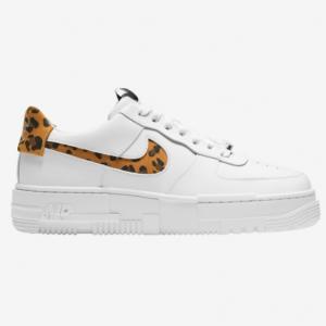 Champs Sports官網 Nike Air Force 1 Pixel 豹紋女士運動鞋熱賣