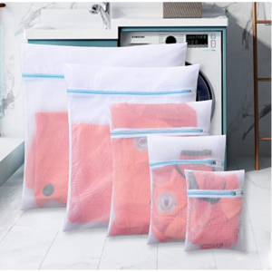 Polecasa  5 Pack Mesh Laundry Bags for Lingerie and Delicates- Lead-Free @ Amazon