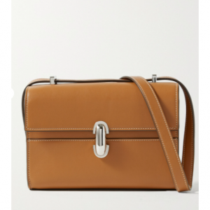 SAVETTE Symmetry 19 leather shoulder bag £1,375