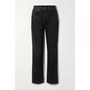ACNE STUDIOS High-rise Straight-leg Jeans Sale @ NET-A-PORTER
