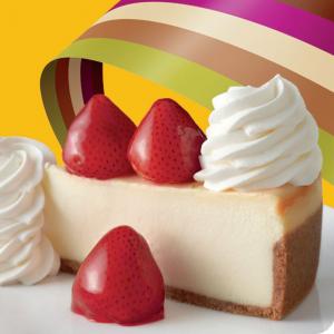 The Cheesecake Factory 官網禮卡買送特賣