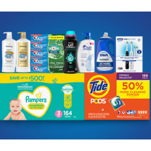 Procter & Gamble Household Essentials Promotion @ Sam's Club