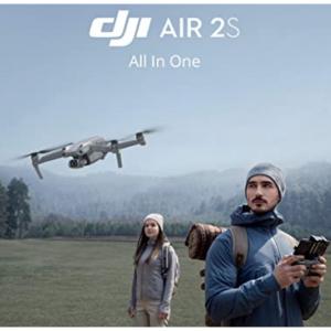 "Amazon - 新品上市:DJI Air 2S 无人机, 1""影像传感器+5.4K超清视频+大师镜头"