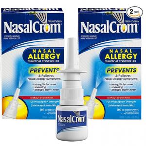 NasalCrom 鼻炎喷剂 200喷 0.88oz 2瓶 @ Amazon