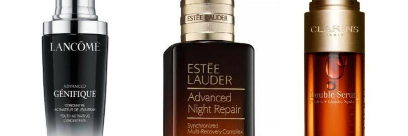 Lancome Genifique vs. Estee Lauder Night Repair vs. Clarins Double Serum: Which is Best for You?