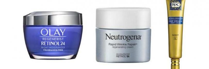 Olay Retinol 24 vs. Neutrogena Rapid Wrinkle Repair vs. RoC Retinol: Which Is Best for You?