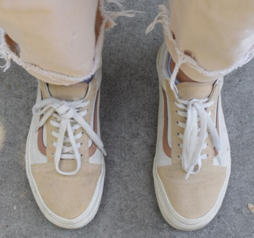 Madewell x Vans® Unisex Old Skool Lace-Up Sneakers in Camel ...