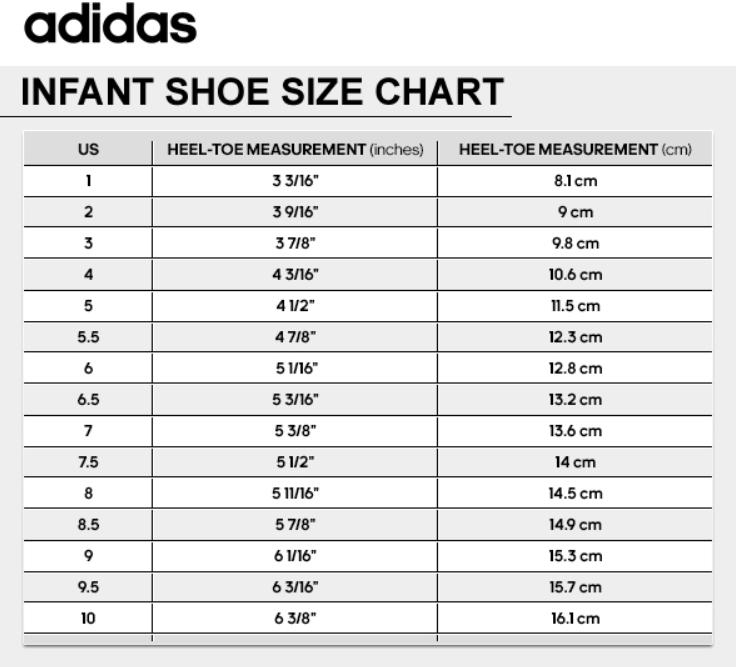 adidas kids us